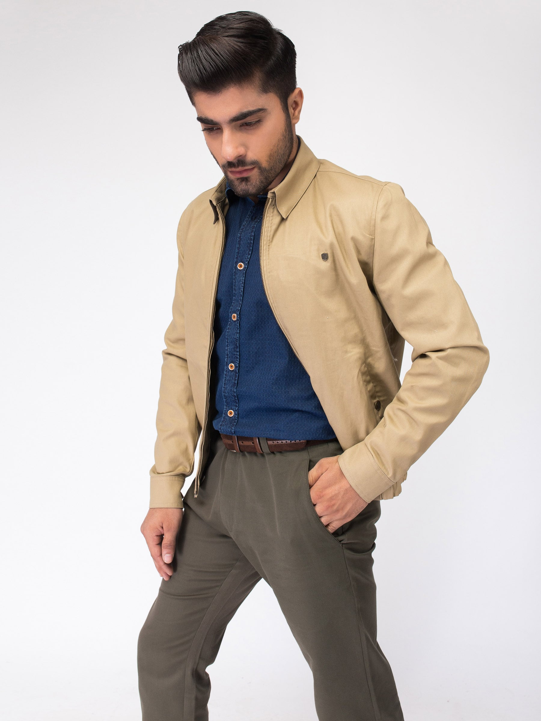 Tan Baracuta Jacket