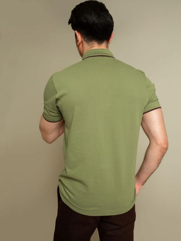 Green Sporty Polo Brumano Pakistan
