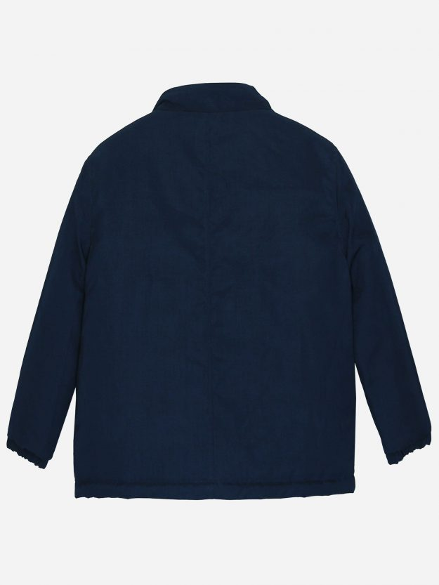 Navy Blue Quilted Casual Jacket Brumano Pakistan